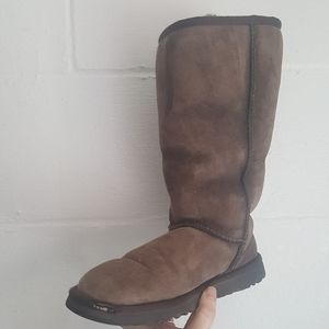 UGG Classic Brown Tall Boots Size 5W
